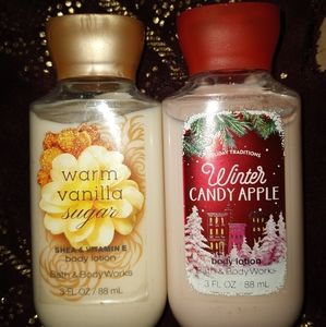 Bath and body lotions